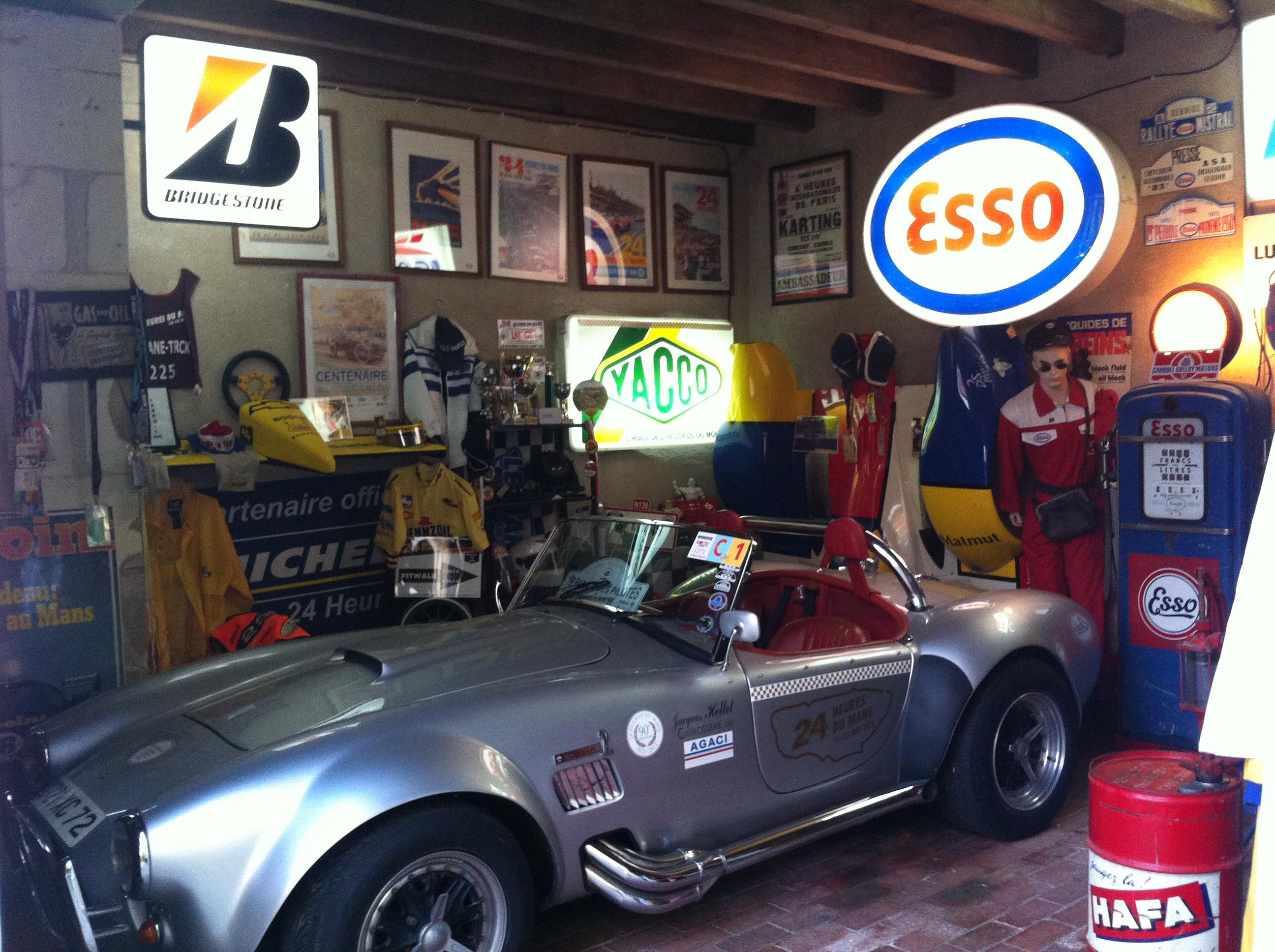 Le Garage des 24 heures du Mans